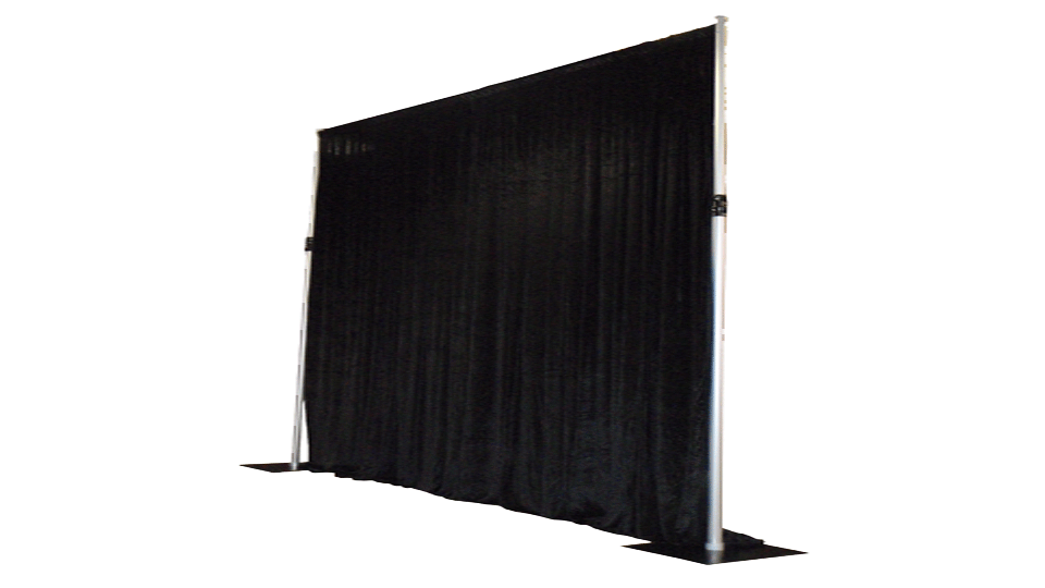 Catwalk Hire 5 with drapes